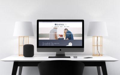 Torresbrok apuesta por el mundo digital con el lanzamiento de su web